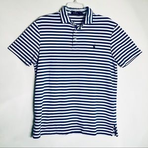 Polo Ralph Lauren | Blue White Striped Polo Shirt